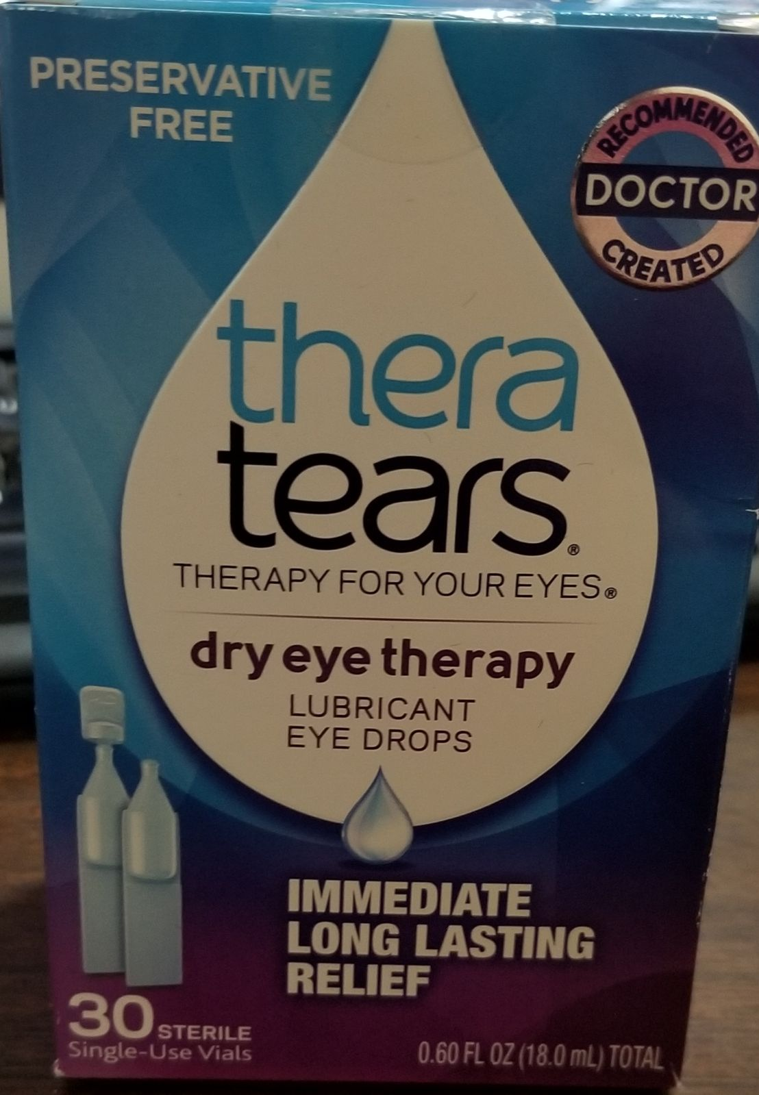 Thera Tears Dry Eye Therapy Drops