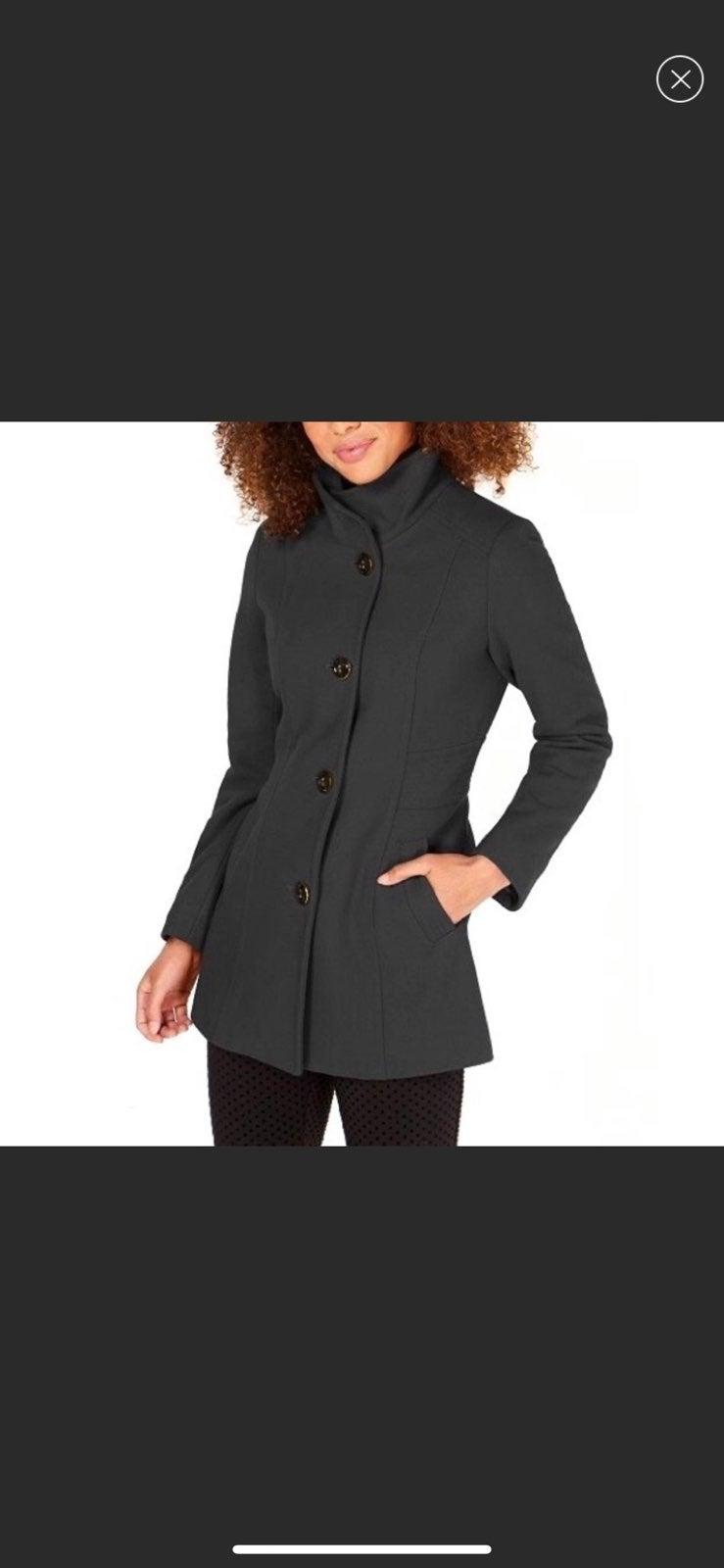 Nautica Wool Single-Breasted Coat