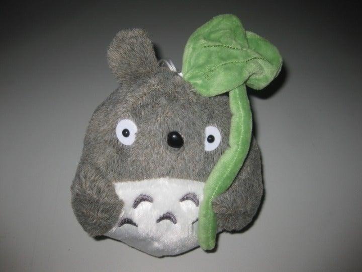 """My Neighbor Totoro Plush w/ Leaf 9"""""""