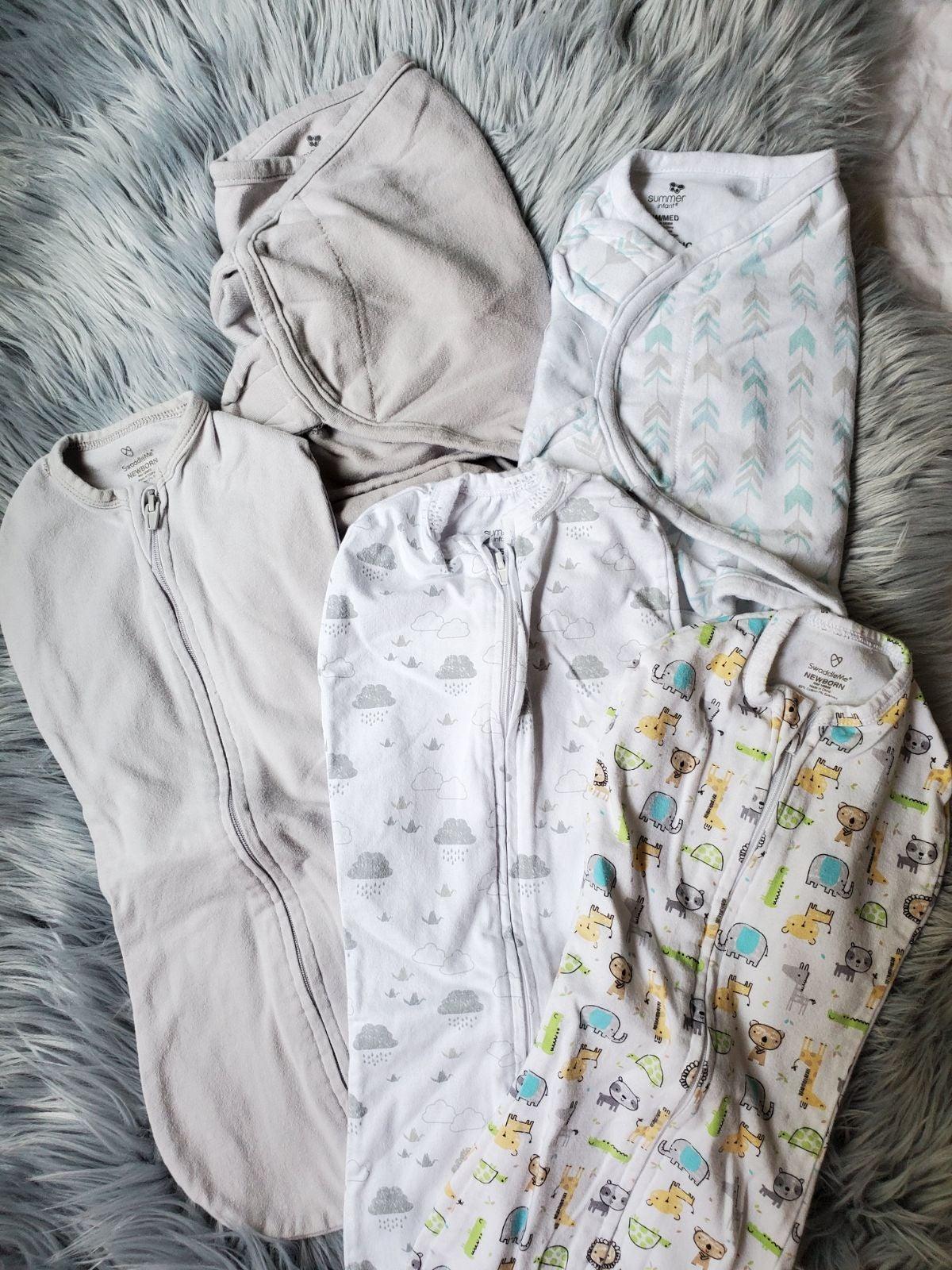 Swaddles and sleep sacks