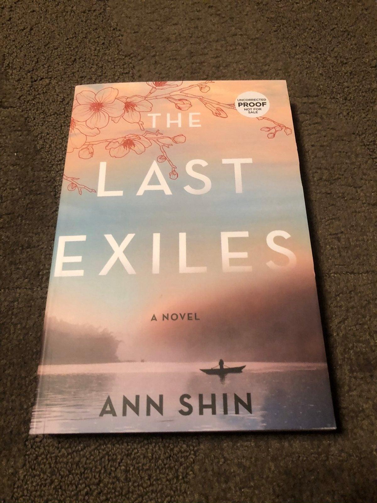 The Last Exiles by Ann Shin ARC