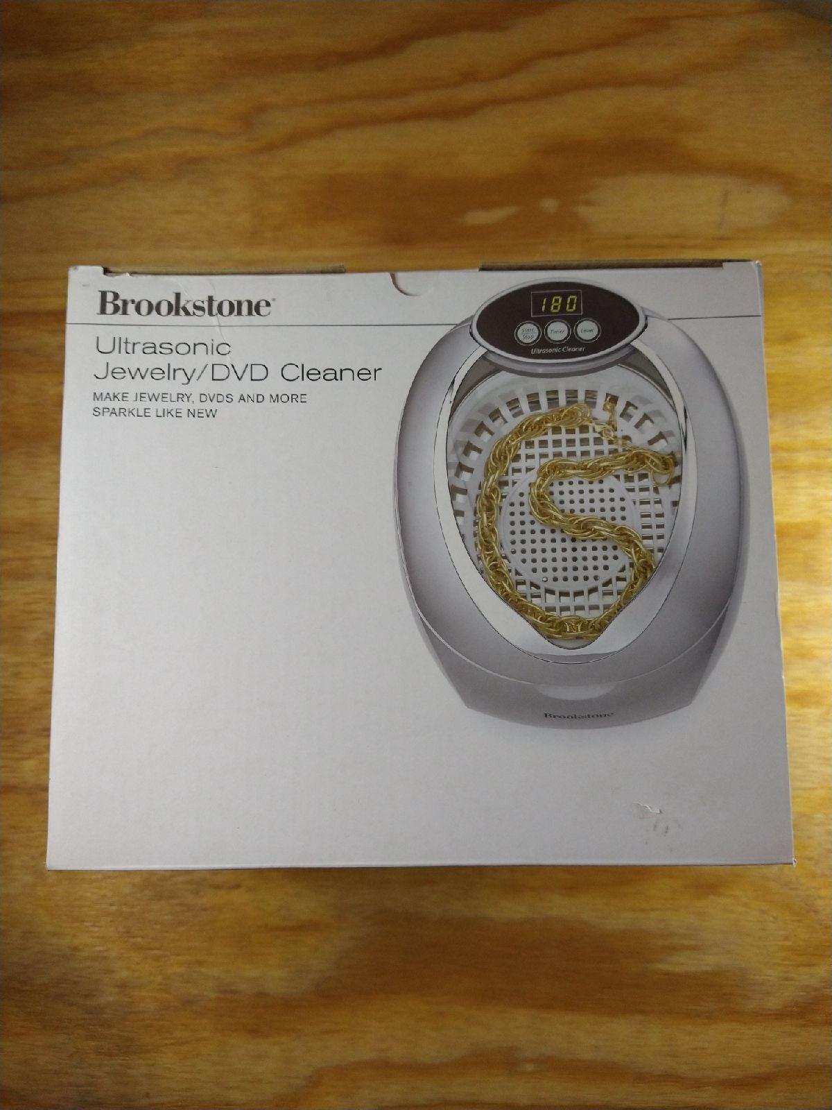 Brookstone Ultra sonic jewelry cleaner