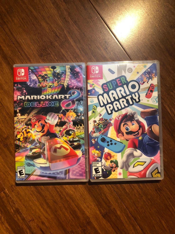 Mario switch game bundle