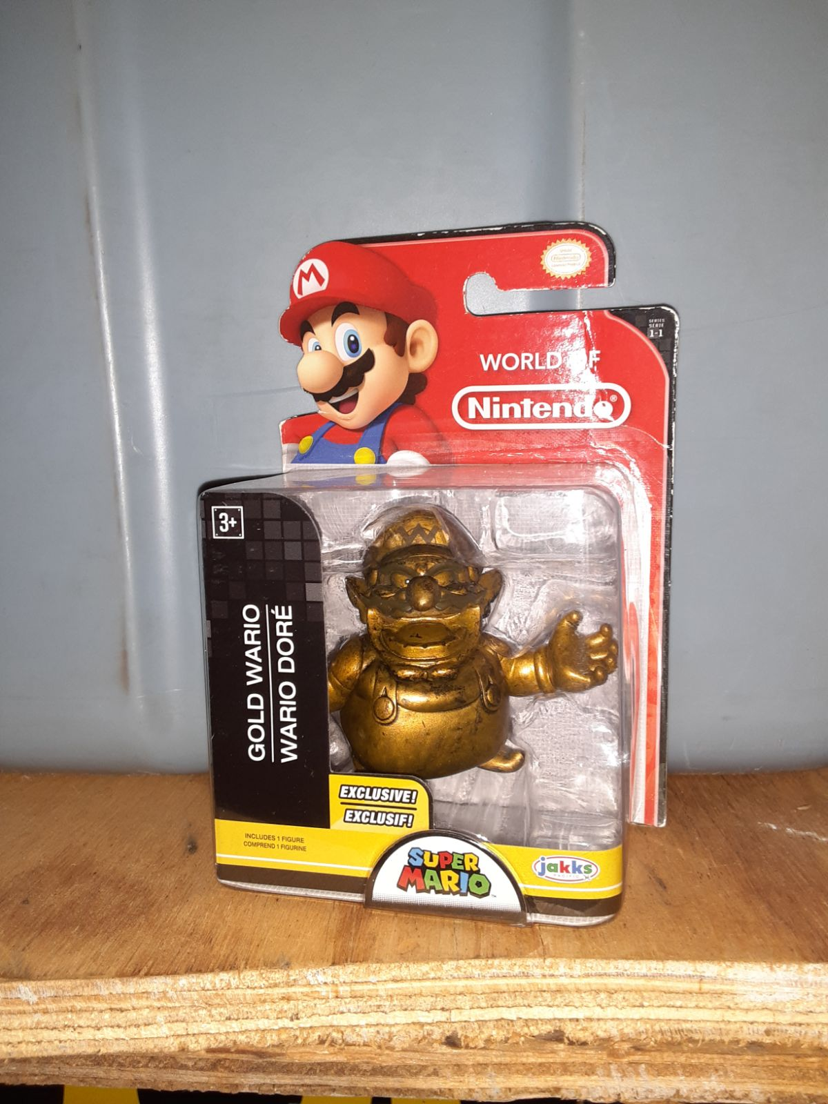 World of nintendo exclusive gold wario