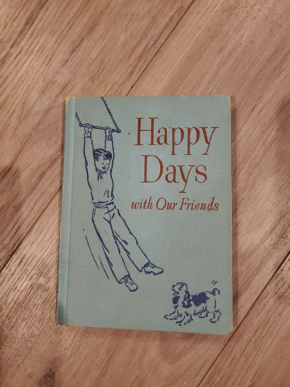 Dick & Jane, Vintage Schoolbook