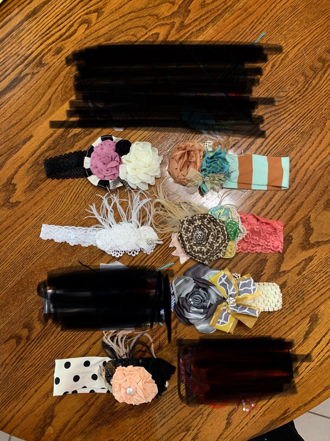6 Persnickety headbands-RESERVED