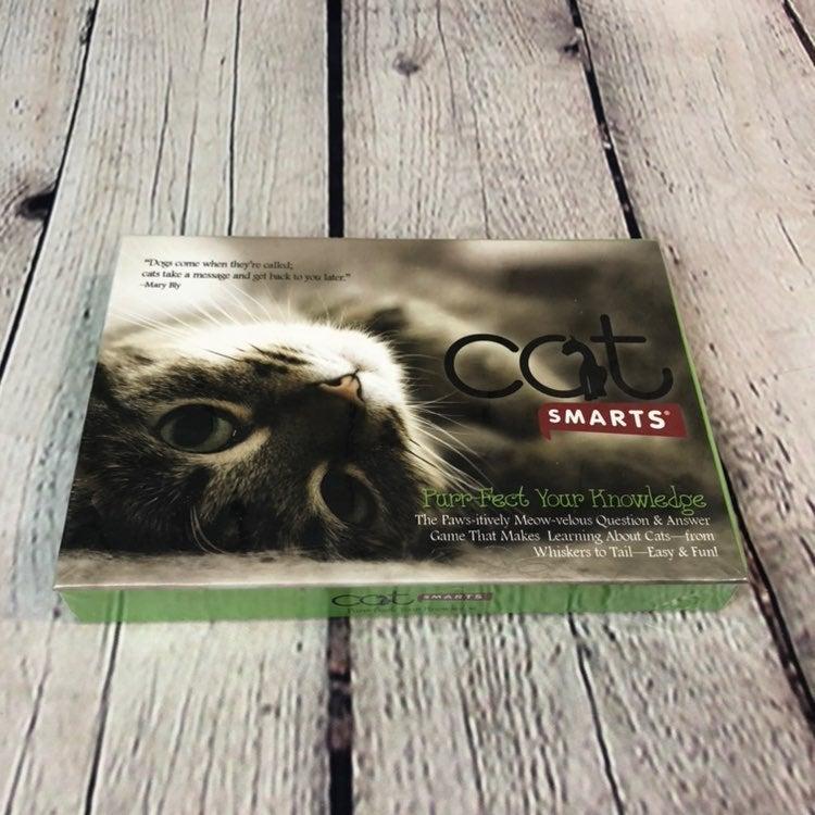 Cat Smarts Purr-Fect Q&A Cat Game
