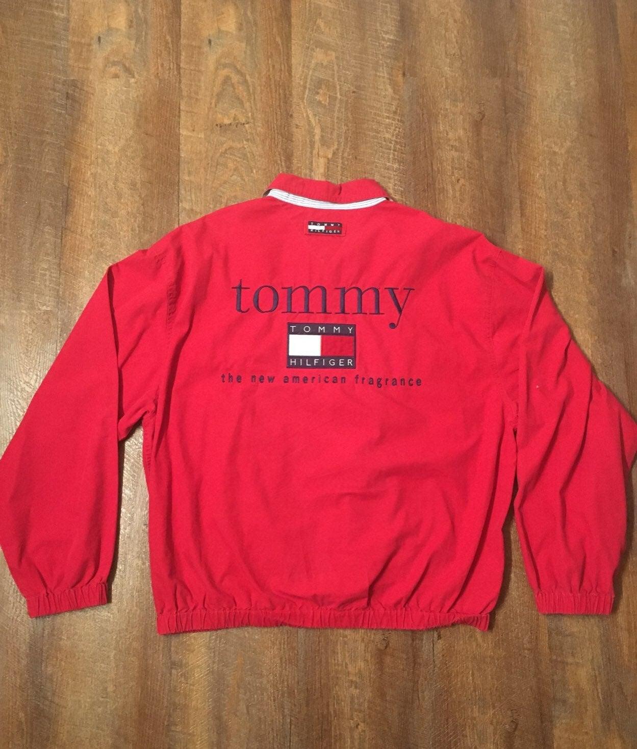 -VTG Tommy Hilfiger Fragrance Jacket L-