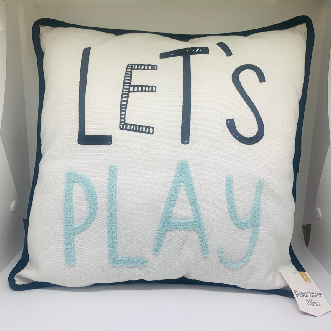 "Target ""Let's Play"" Pillow"