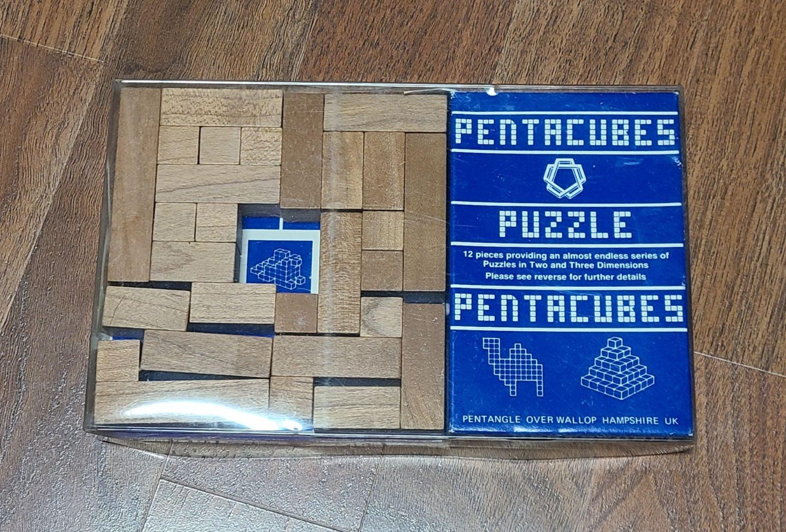 Pentacube Puzzle Complete