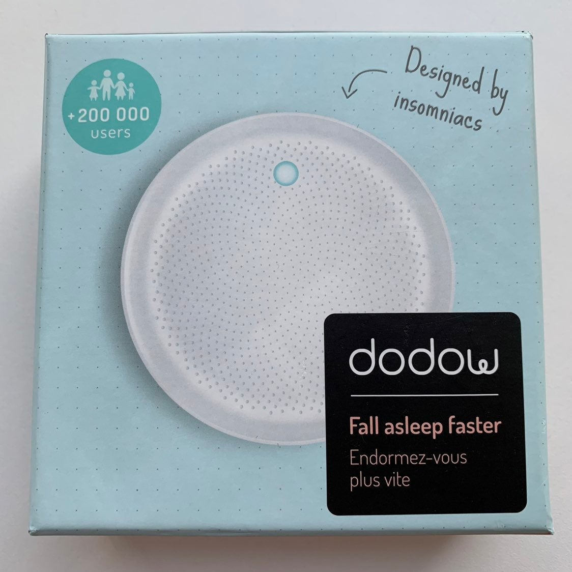 Dodow Fall Asleep Faster • Sleep Tool