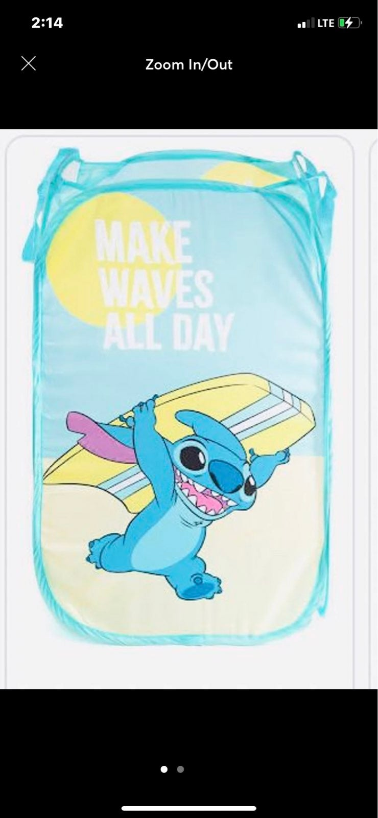 Disney Lilo & Stitch Towel Set & Hamper