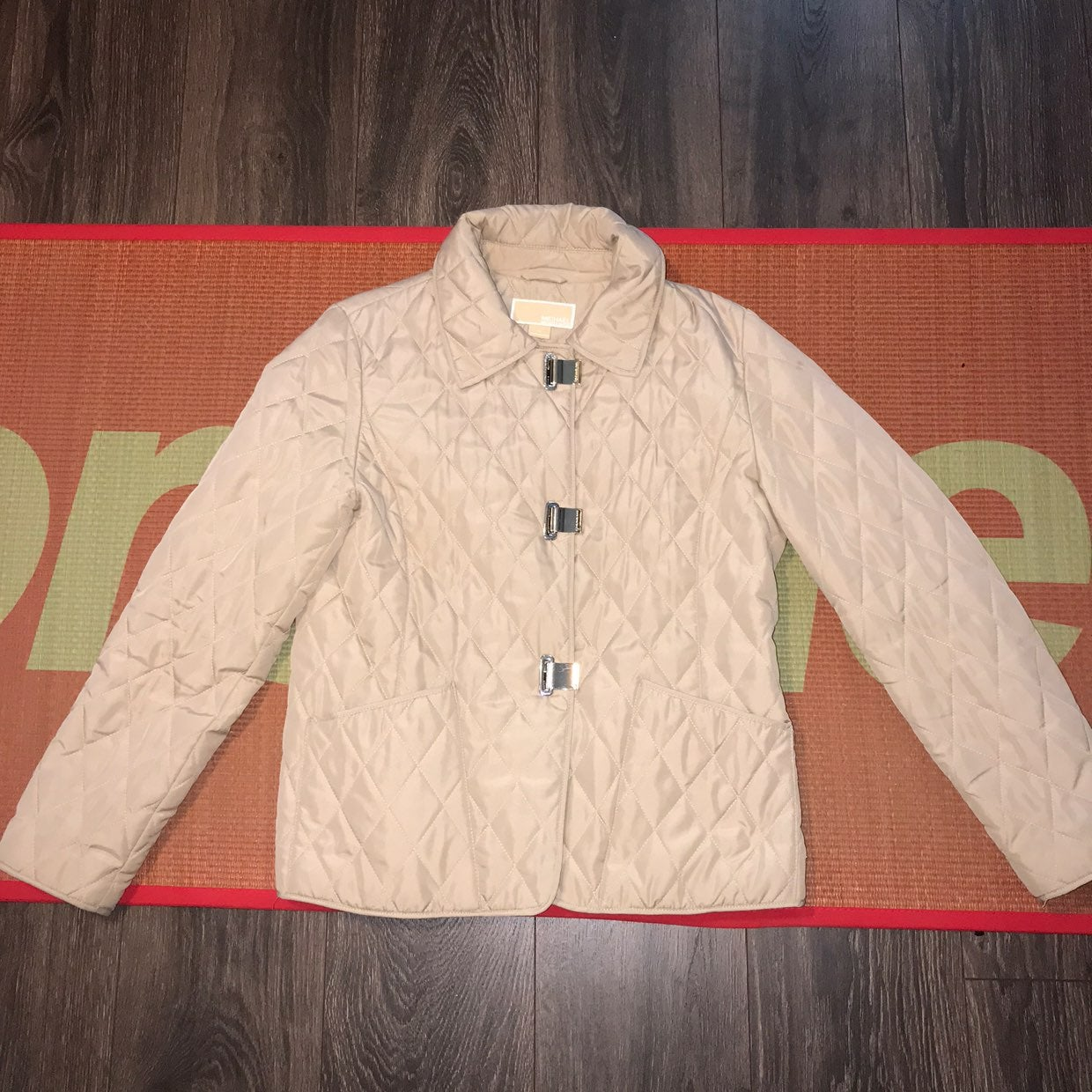 Michael Kors Coat Jacket Medium Cream