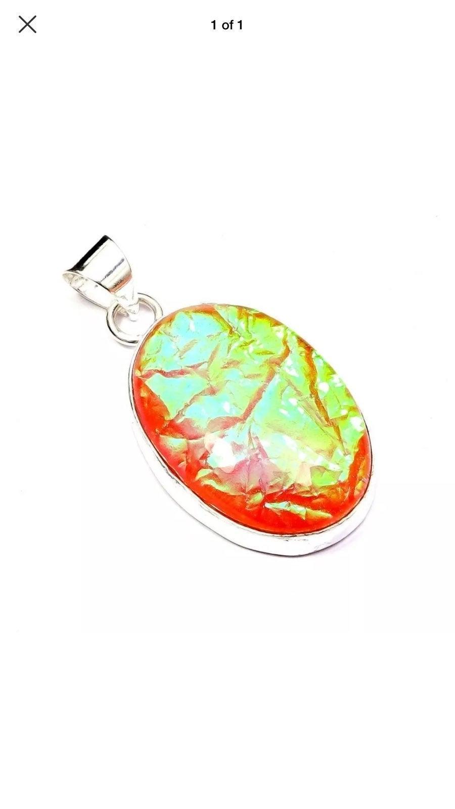 Australian Triplet Opal Pendant