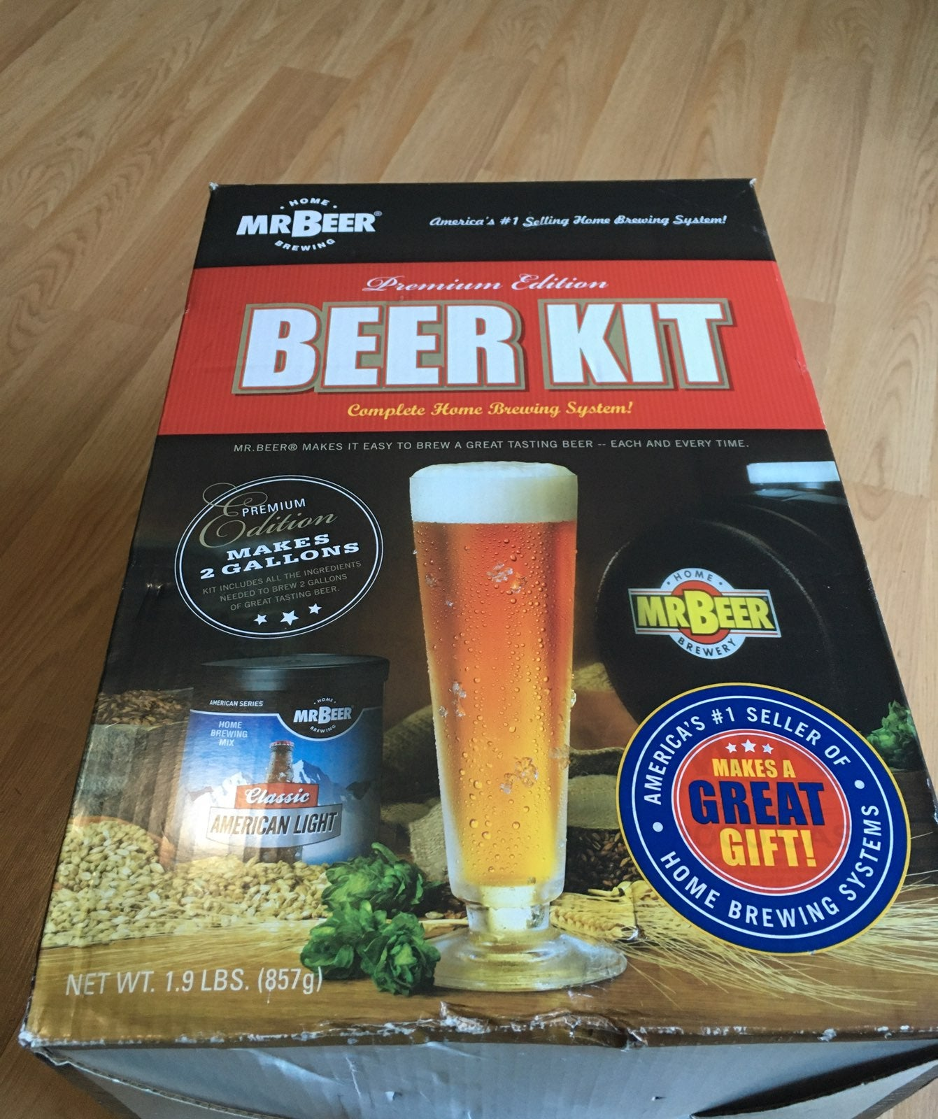 Complete home brewing system
