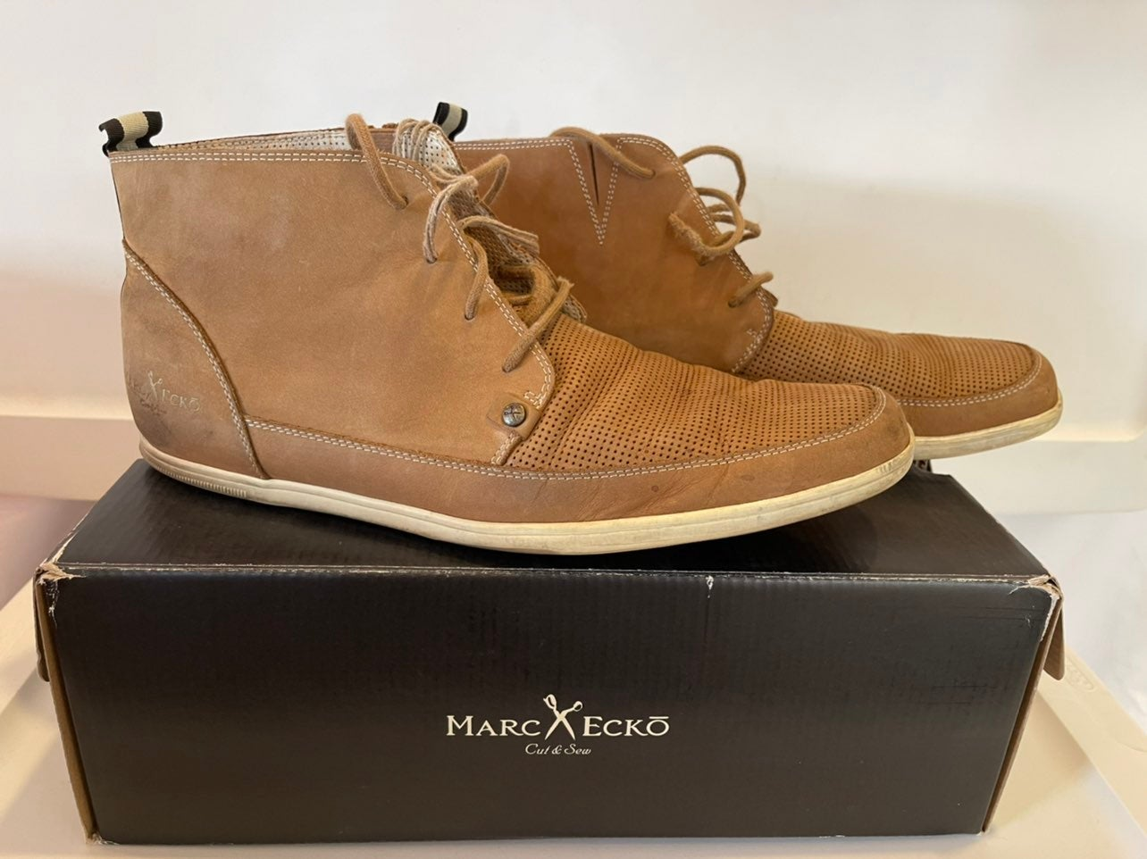 Marc Ecko suede boots