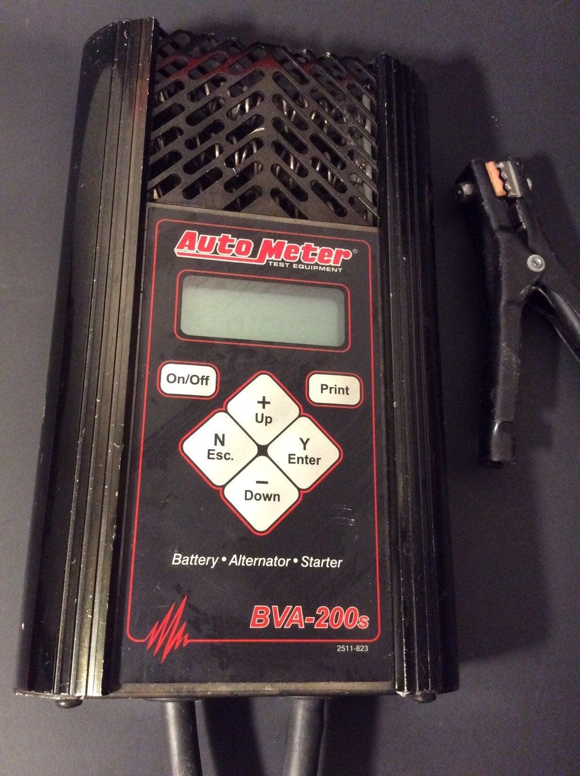 Auto Meter BVA-200S  Battery tester 12\6