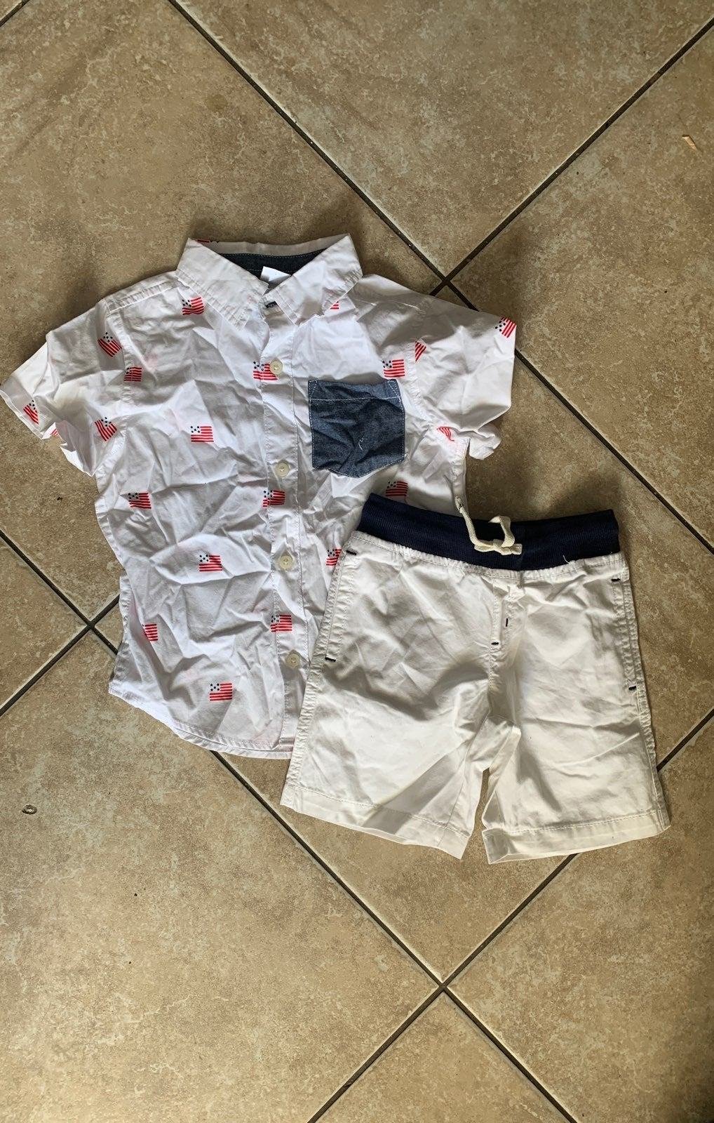 July 4th outfit-3T
