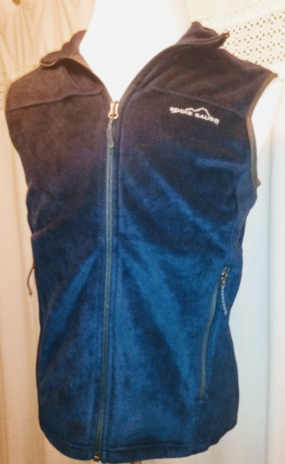 Eddie Bauer Small Fleece Vest Sleeveless