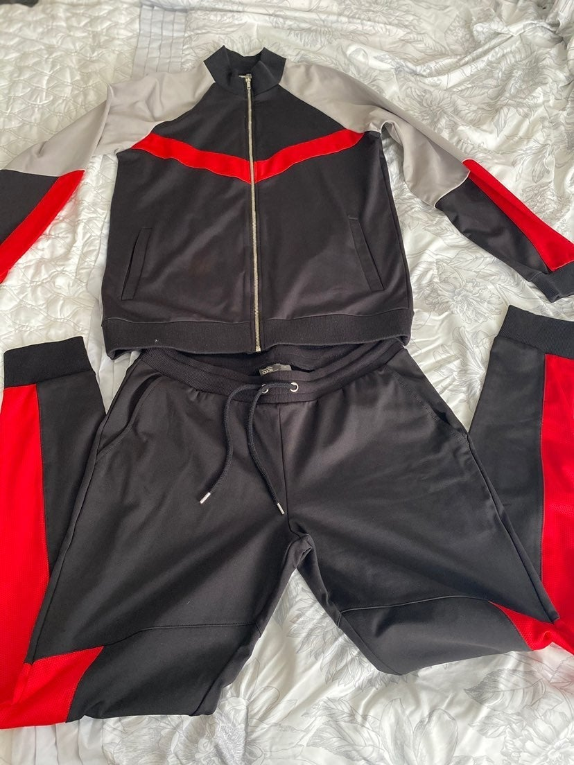 New asos track suit size medium