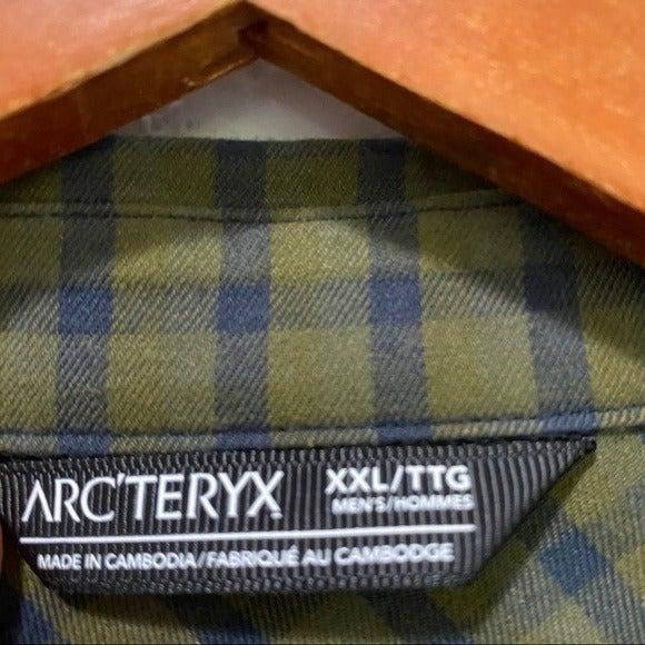 Arcteryx Plaid Button Front Long Sleeve