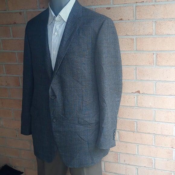 Samuelsohn Justin wool Blend Gray 46L
