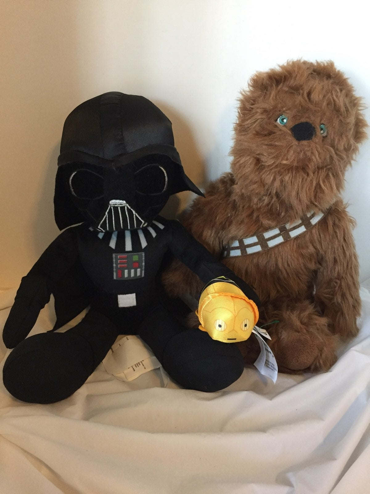 Star Wars Plush Trio