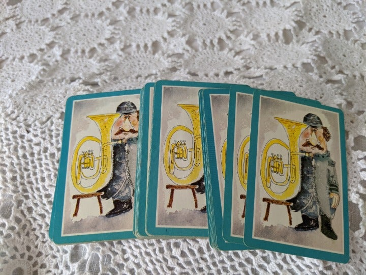 Whitman Vintage Playing Cards Complete