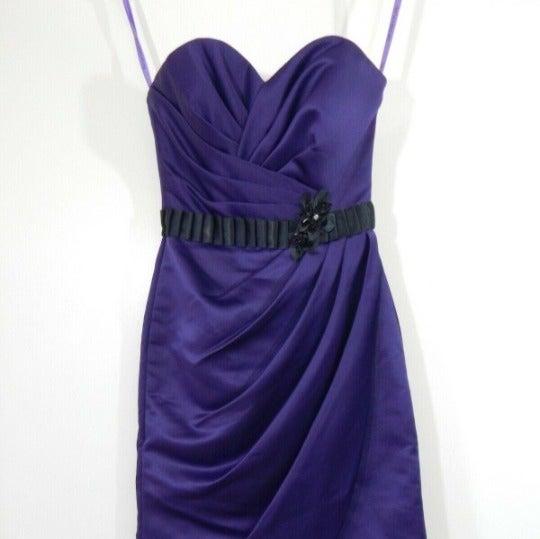 purple MORI LEE MADELINE GARDNER dress 4