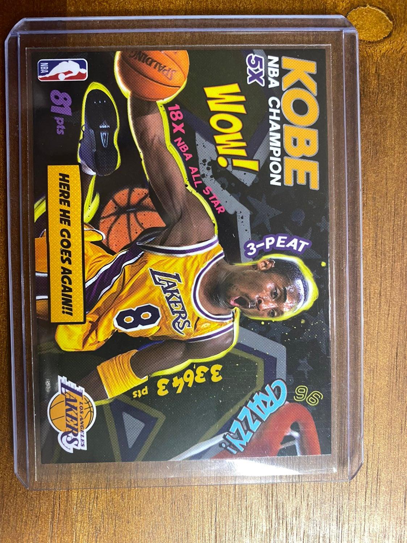 1996 Kobe Bryant Lakers WOW CARD