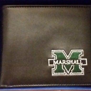 Marshall University Leather Wallet NIB