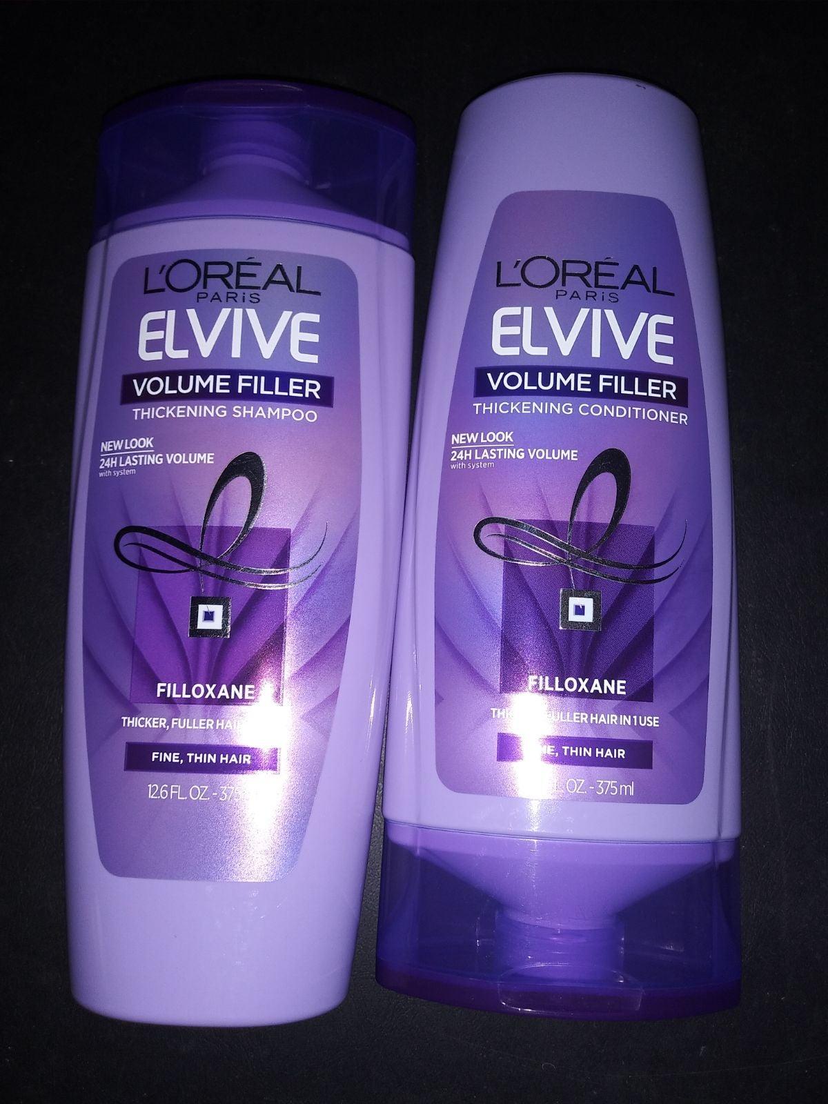L'oreal Elvive Shampoo & Conditioner 4