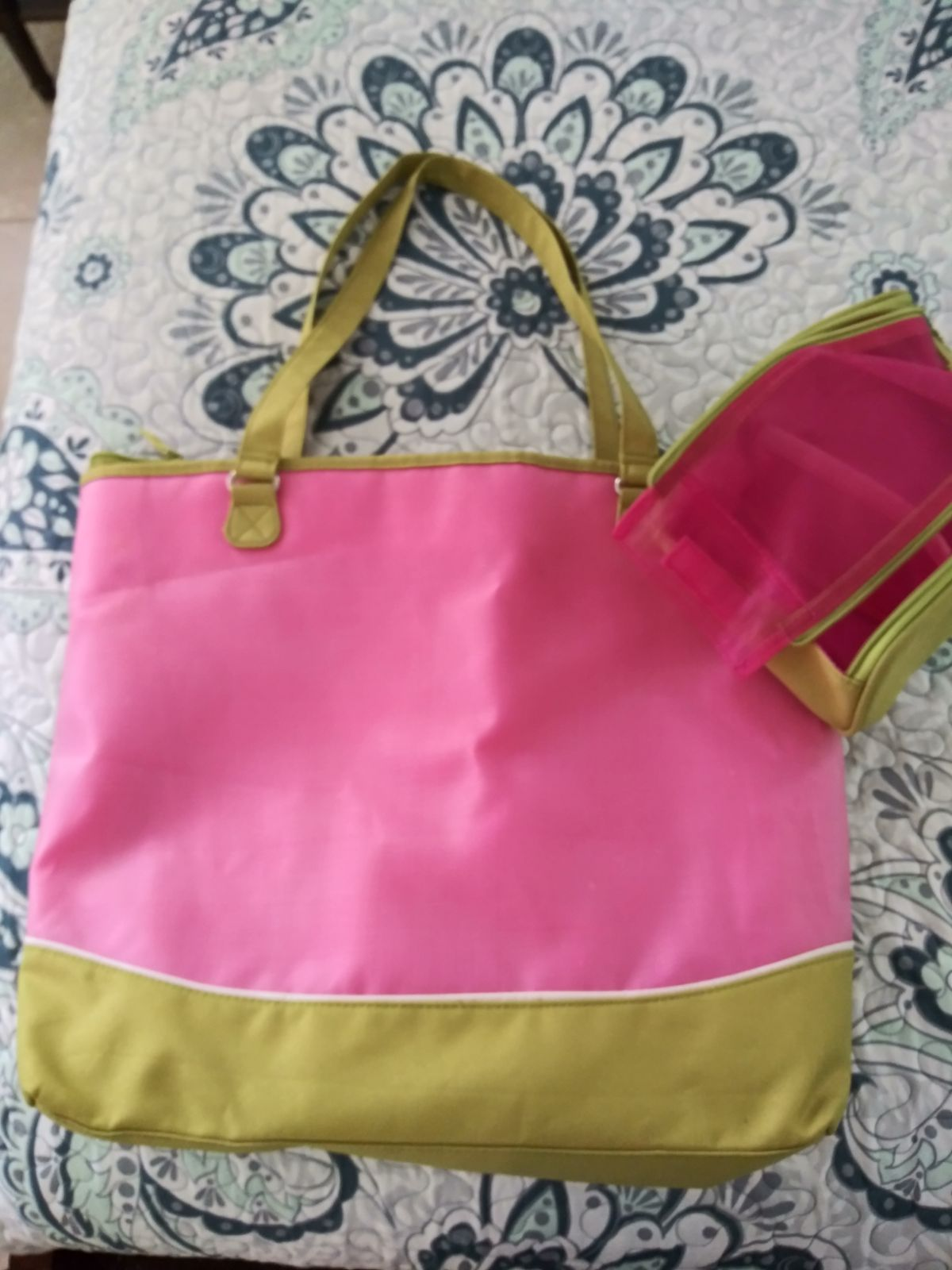 (2) creative memories pink bags