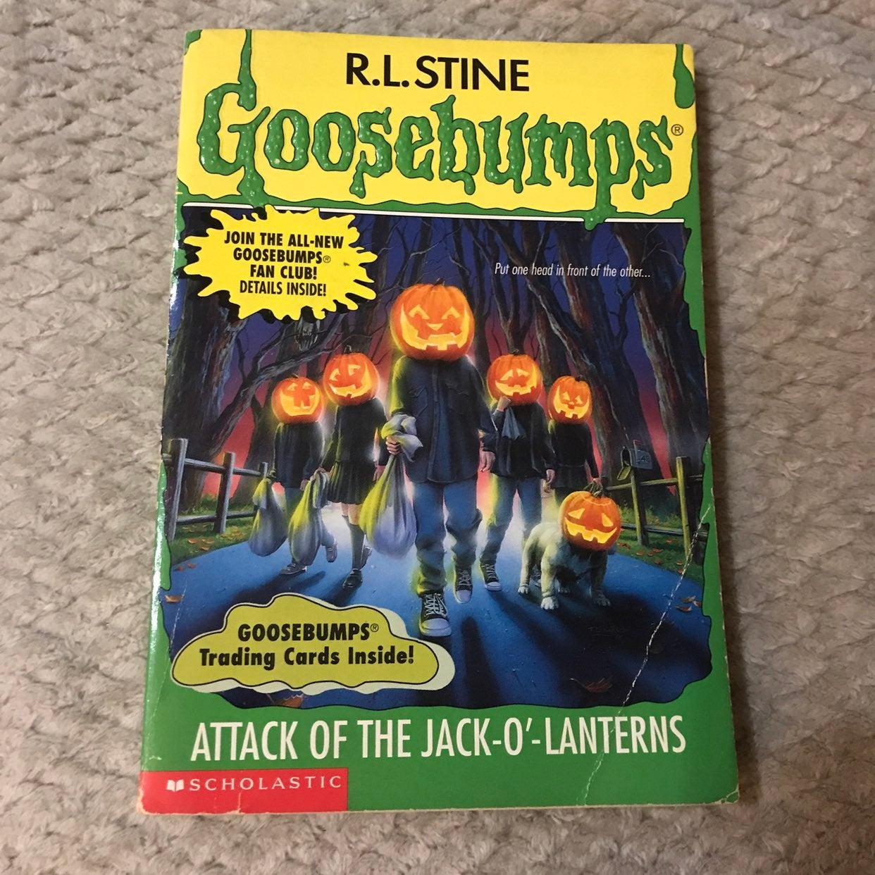 RL Stine Goosebumps #48 Book