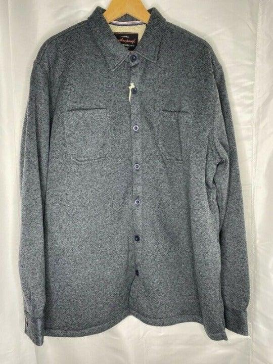 Weatherproof Mens Shirt Jacket Blue Two