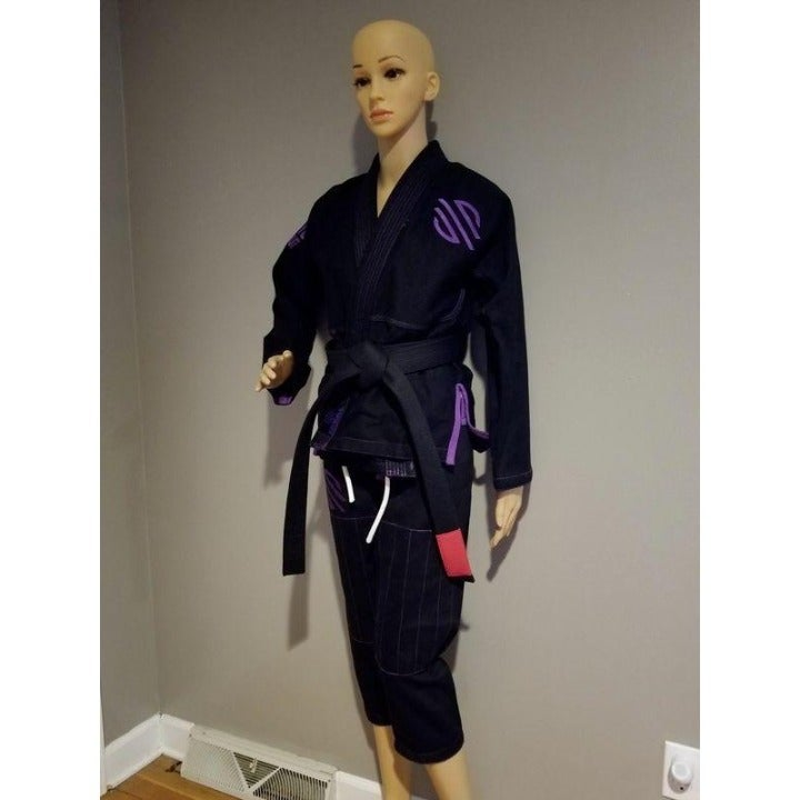 Black BJJ Gi Sportswear