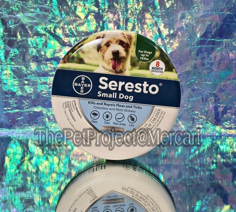 SERESTO SMALL DOG FACTORY SEALED