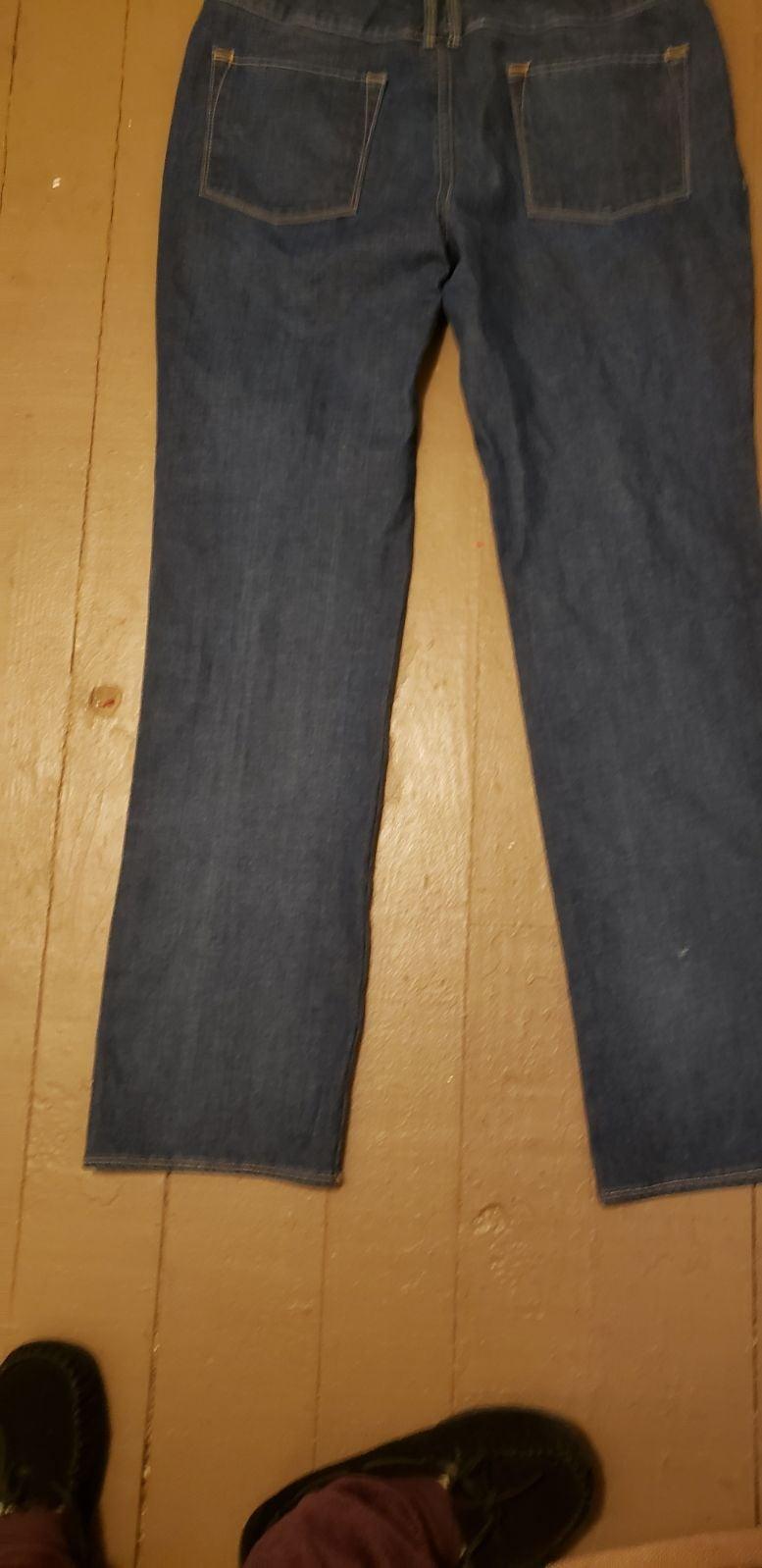 Pure Color Bootcut Jeans 32