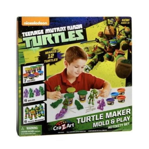 Ninja Turtles Mold n' Play Activity Set