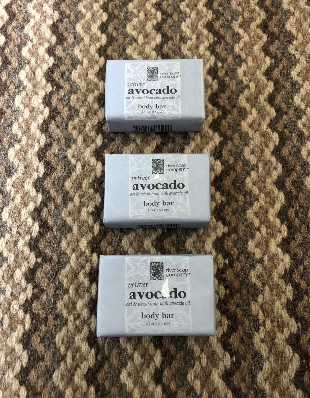 River soap company avocado body bar