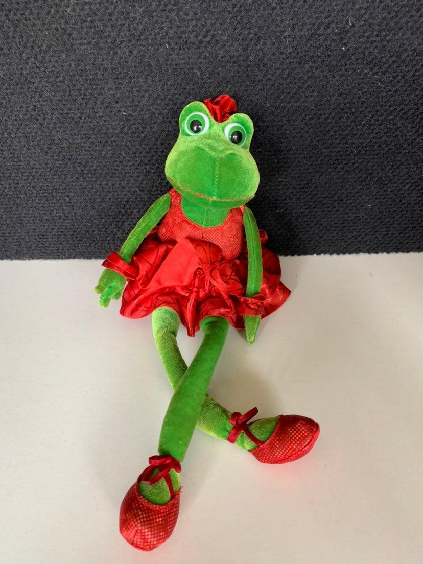 Plush russ berrie frog