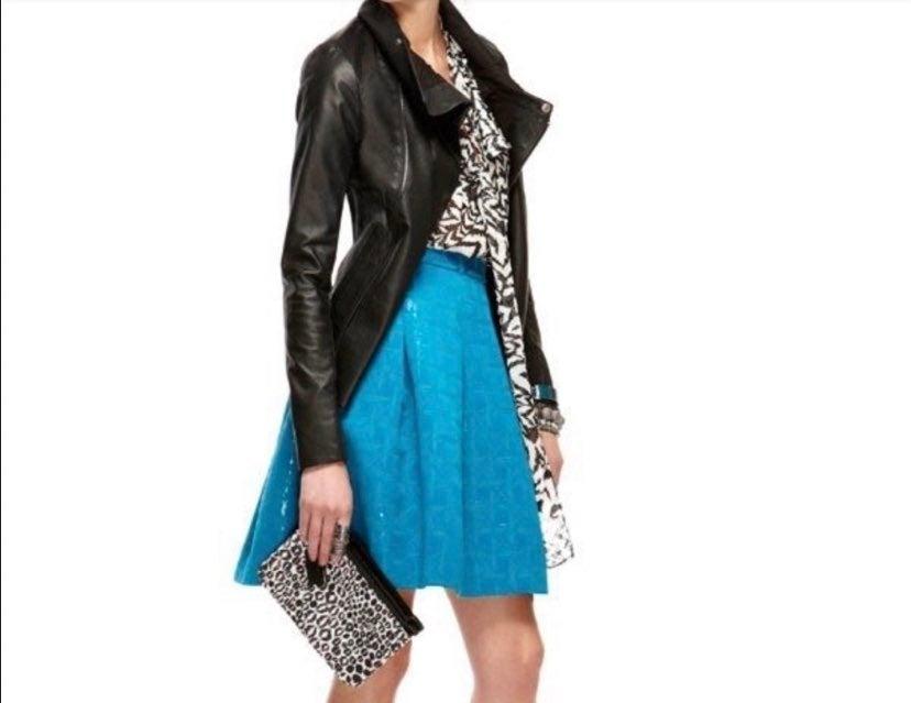 Kirna Zabete Leather Jacket