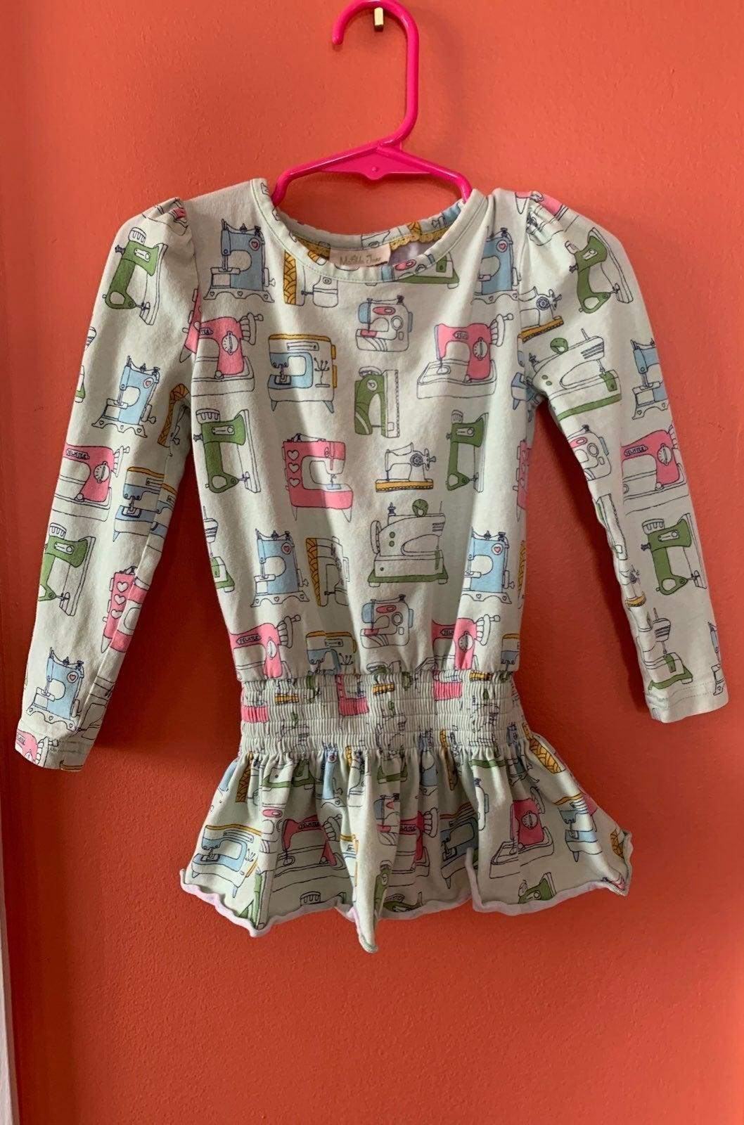 Matilda jane 2t sewing machine top