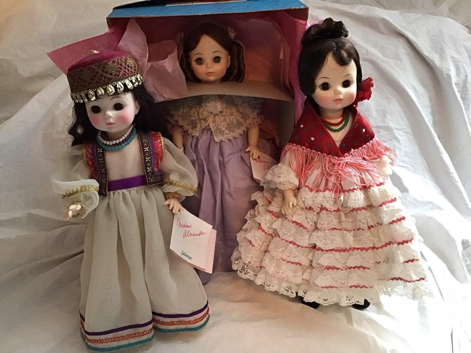 Madame Alexander Opera Series Doll Lot 3