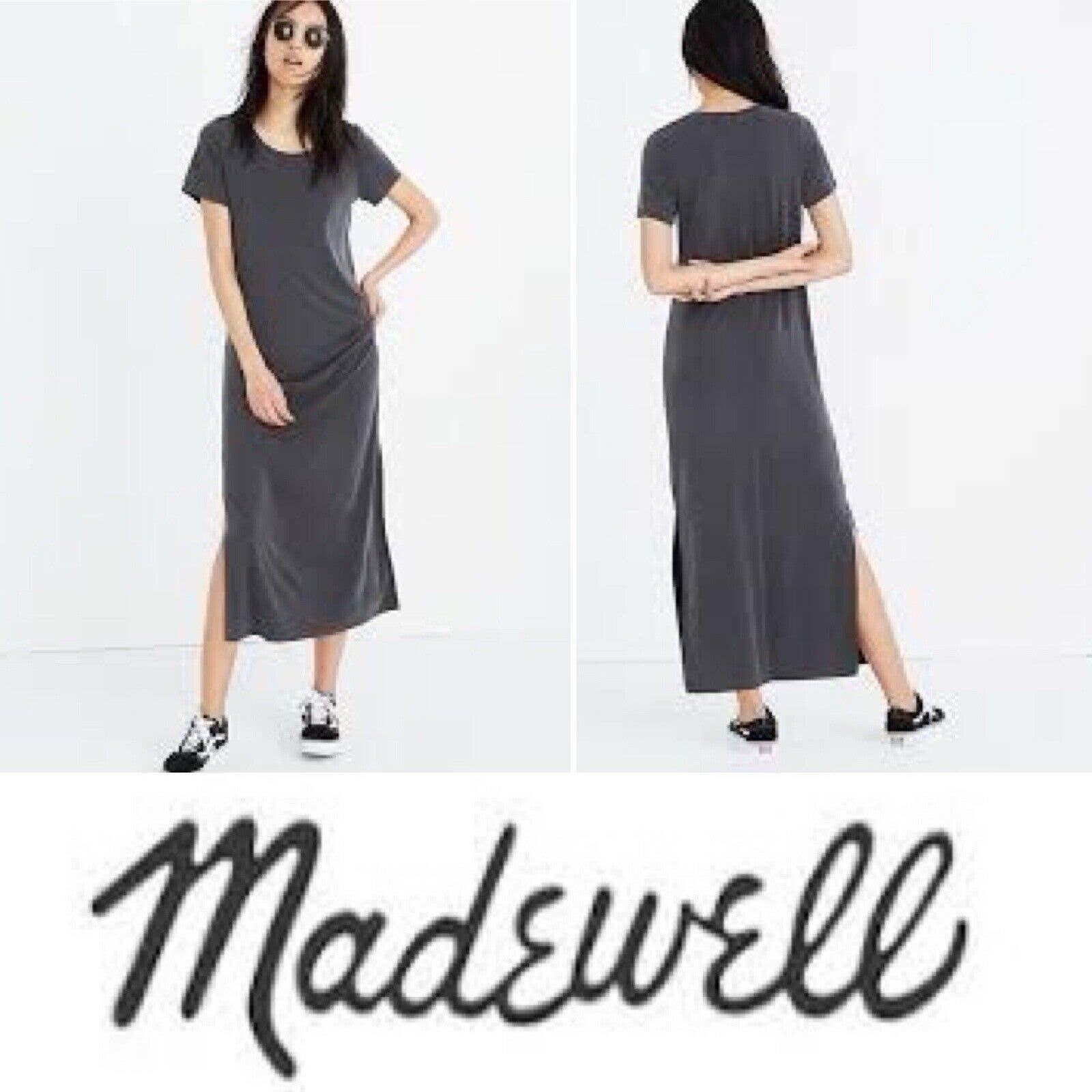 Madewell Maxi tee dress Sandwashed XS