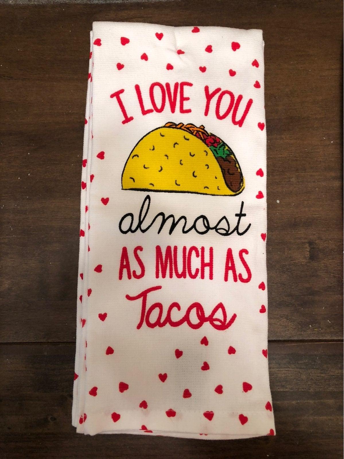 Kitchen Towels Tacos