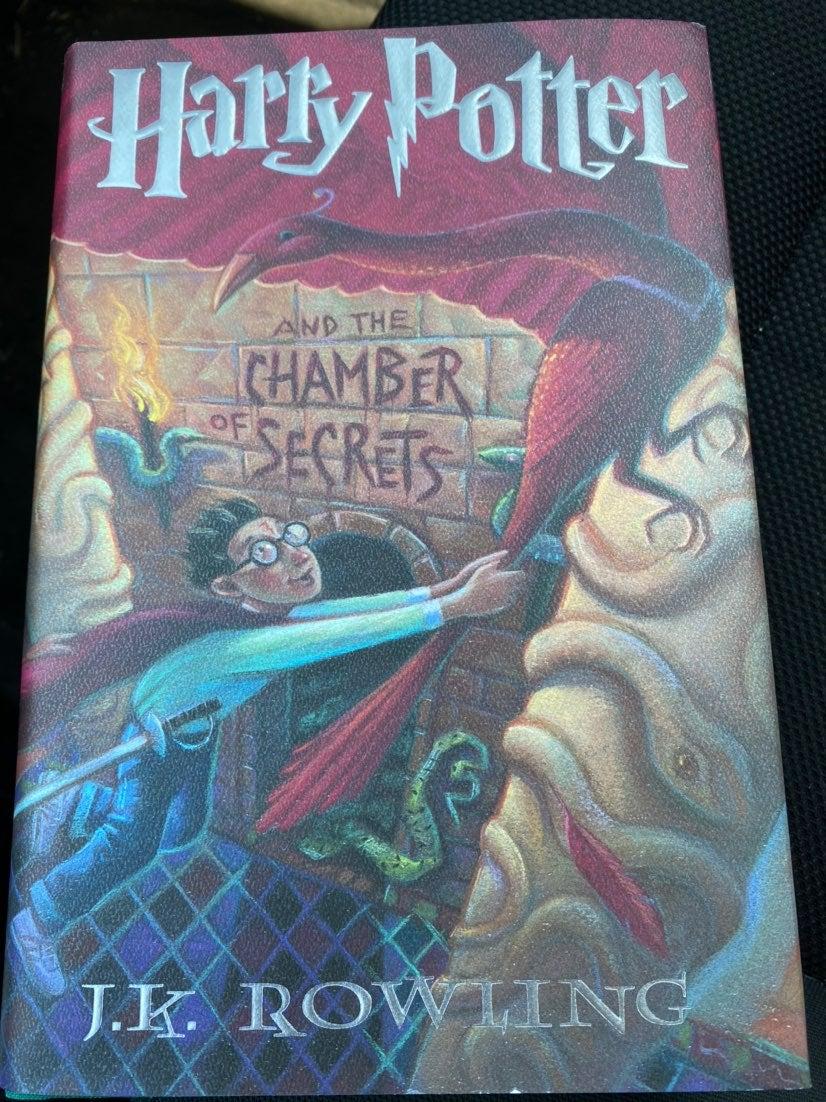 Harry potter chamber of secrets hardback