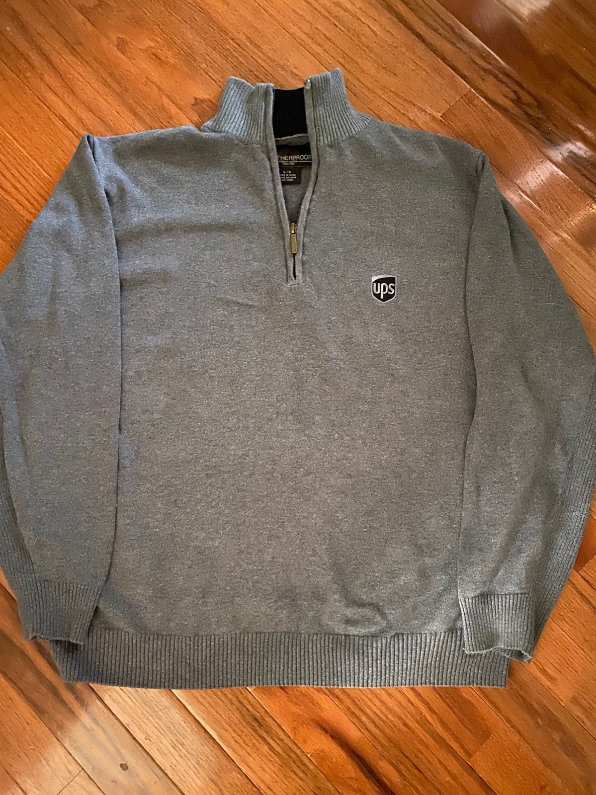 UPS Embroidred Logo Sweater