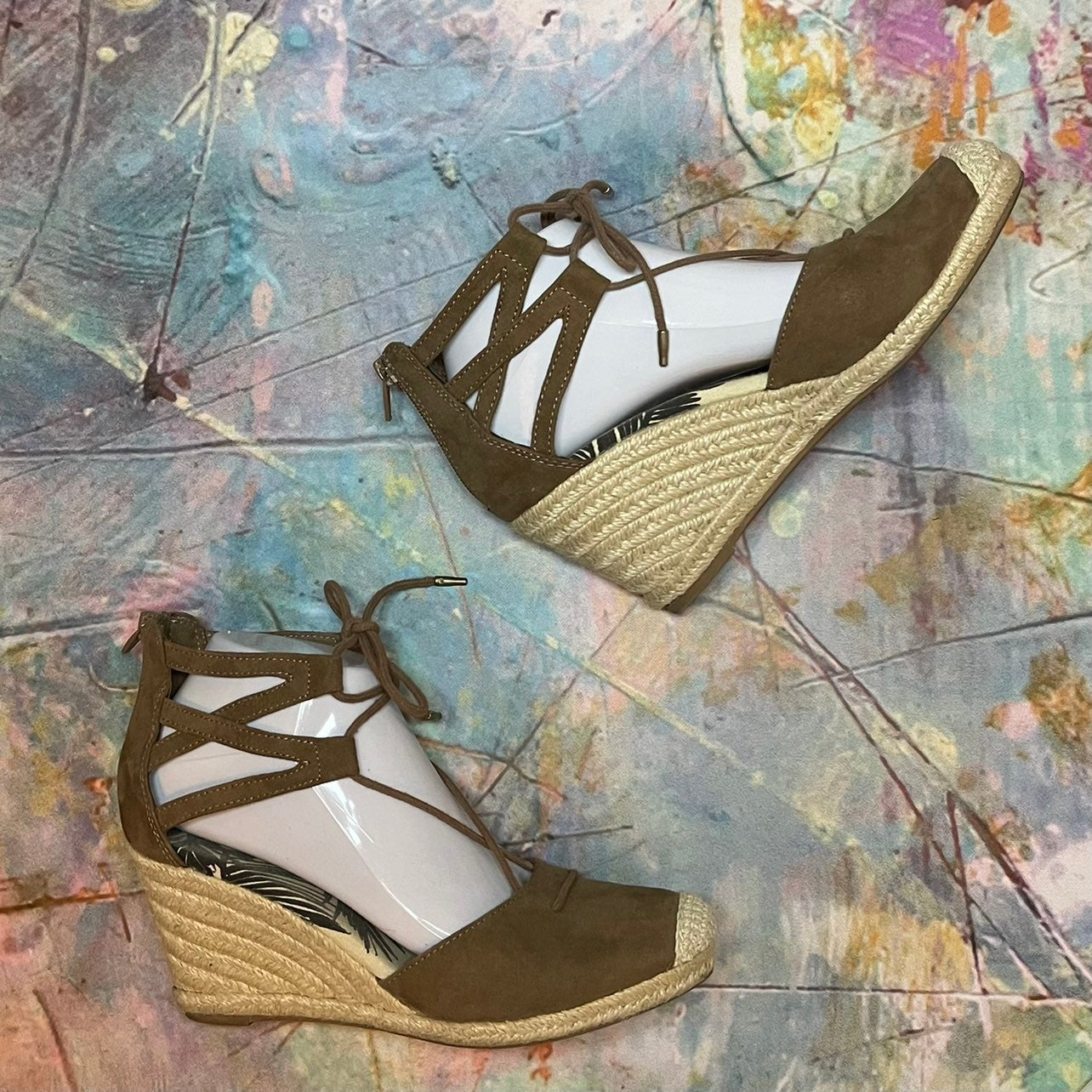 DV by Dolce Vita Espadrille Wedges, Size 7.5