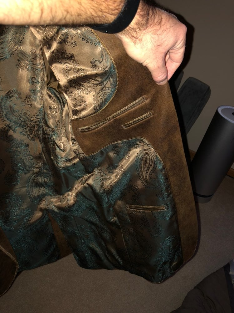Italian blazer (Mantoni) brown